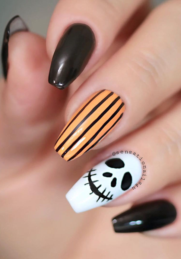 60 Halloween Nail Art Designs 2019