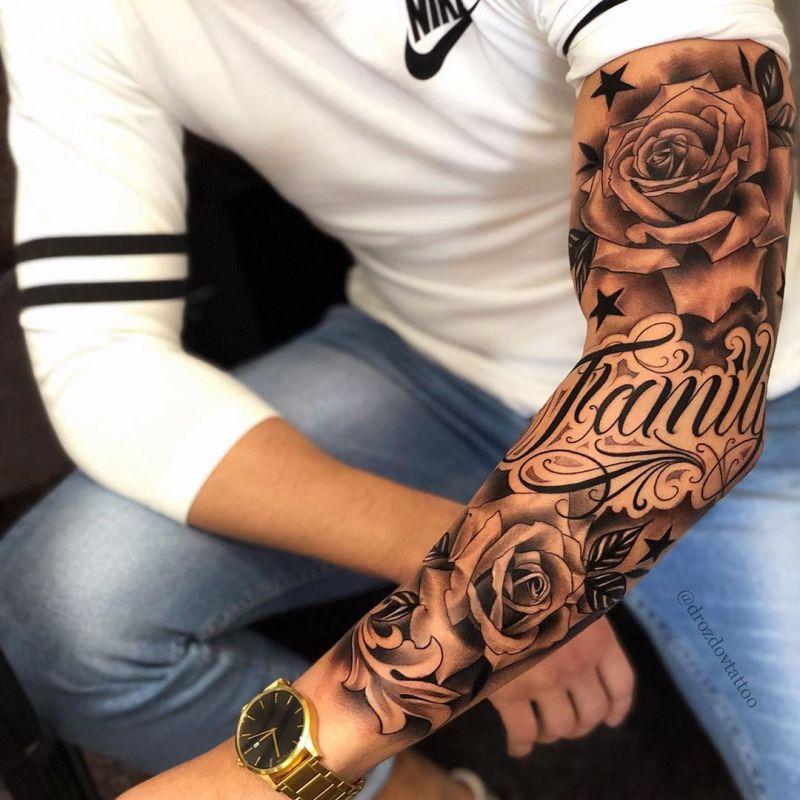 52 Superb Sleeve Tattoos for Men