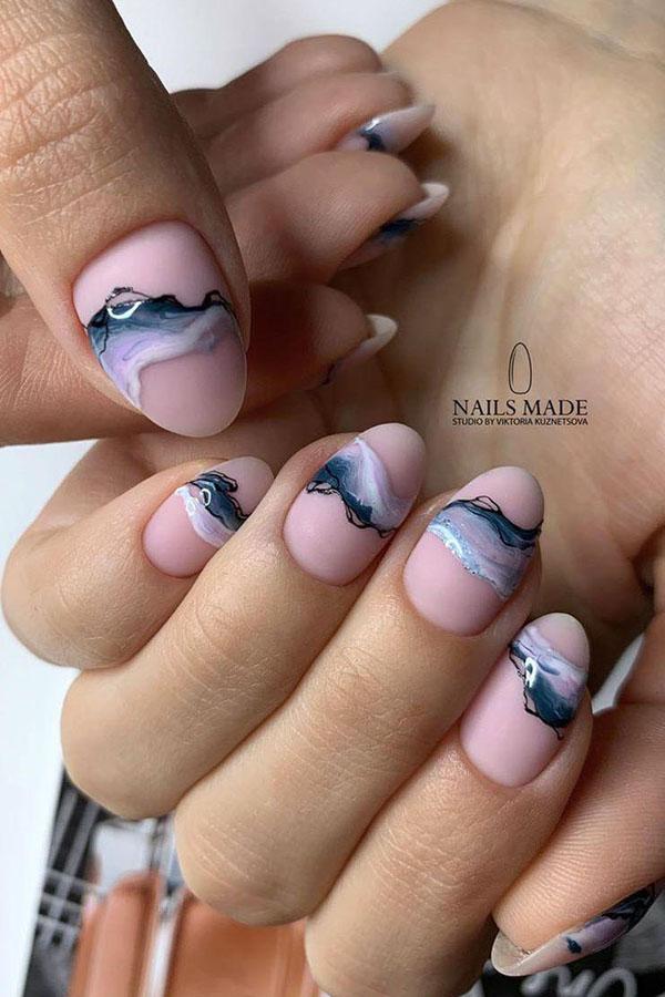 32 Watercolor Nail Art Designs