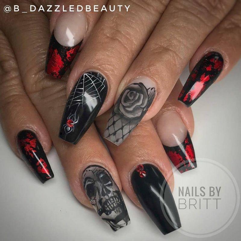 60 Halloween Nail Art Designs 2019