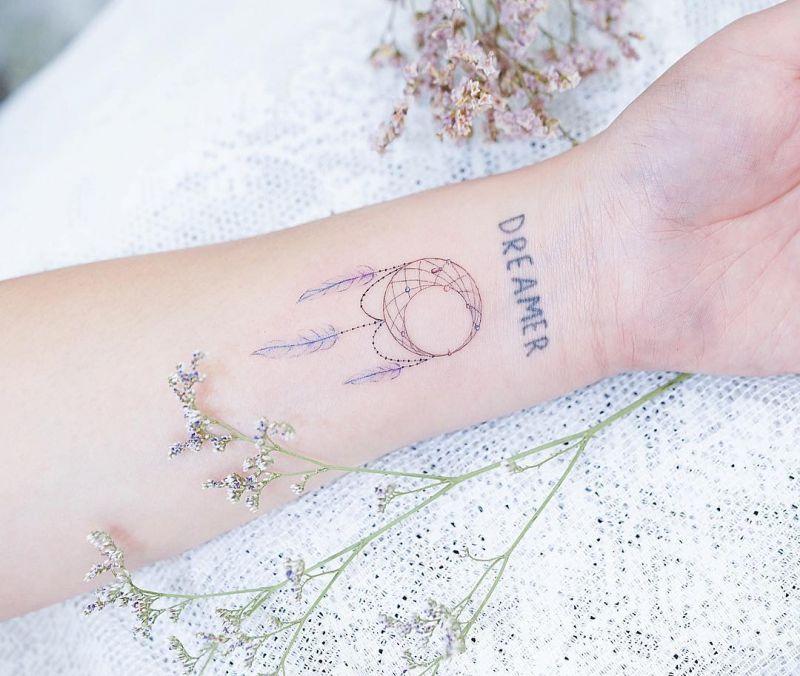 40 Best Dreamcatcher Tattoo Designs to Get Inspired In 2019
