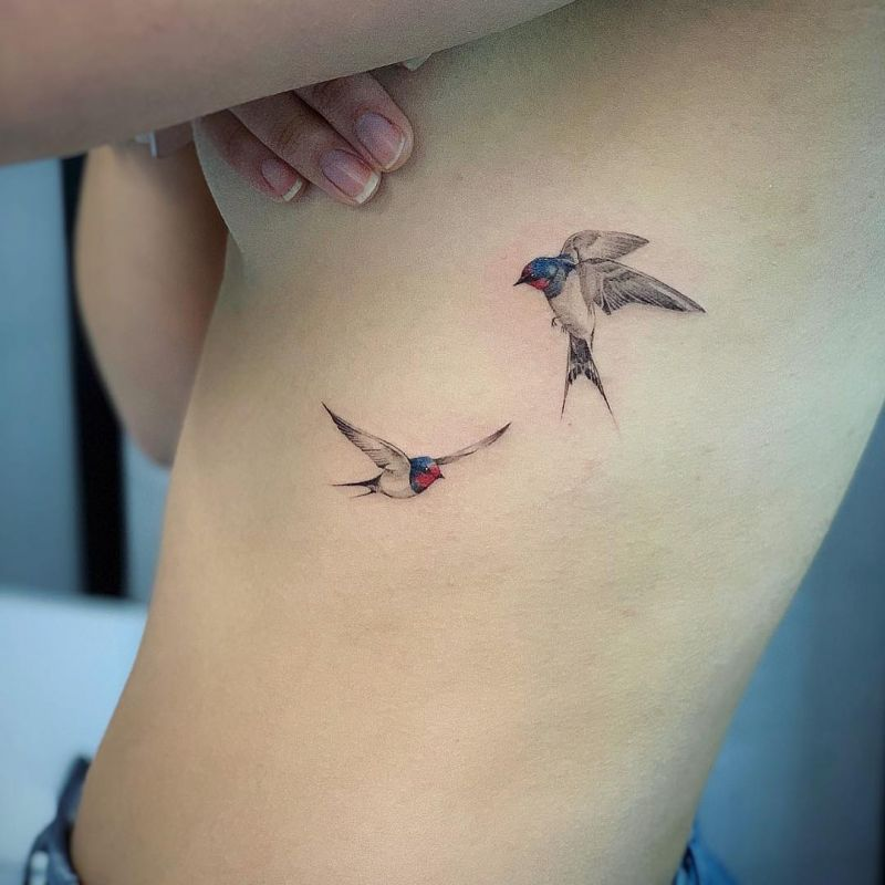51 Trendy Bird Tattoos for Women You Will Love