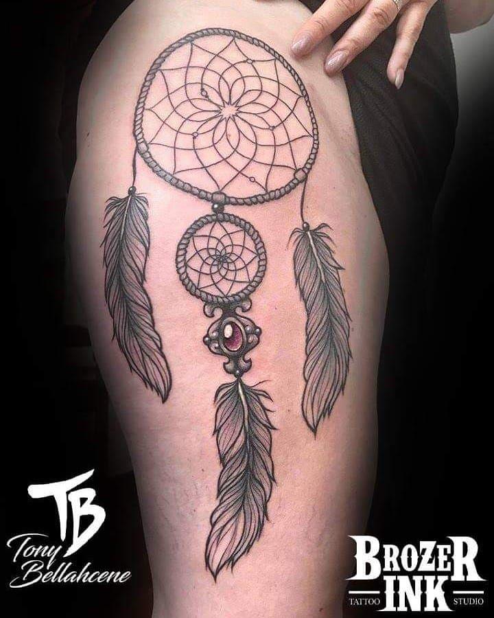 40 Best Dreamcatcher Tattoo Designs to Get Inspired In 2020