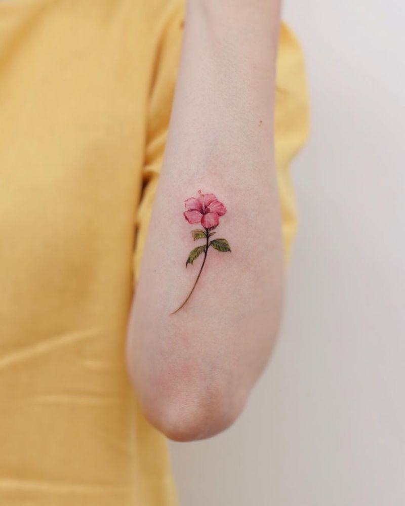 55 Beautiful Flower Tattoos For Women