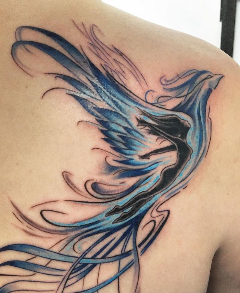 55 Gorgeous Phoenix Tattoos You Must Try