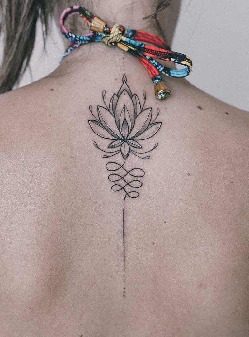 55 Pretty Lotus Flower Tattoos Enhance Your Personality