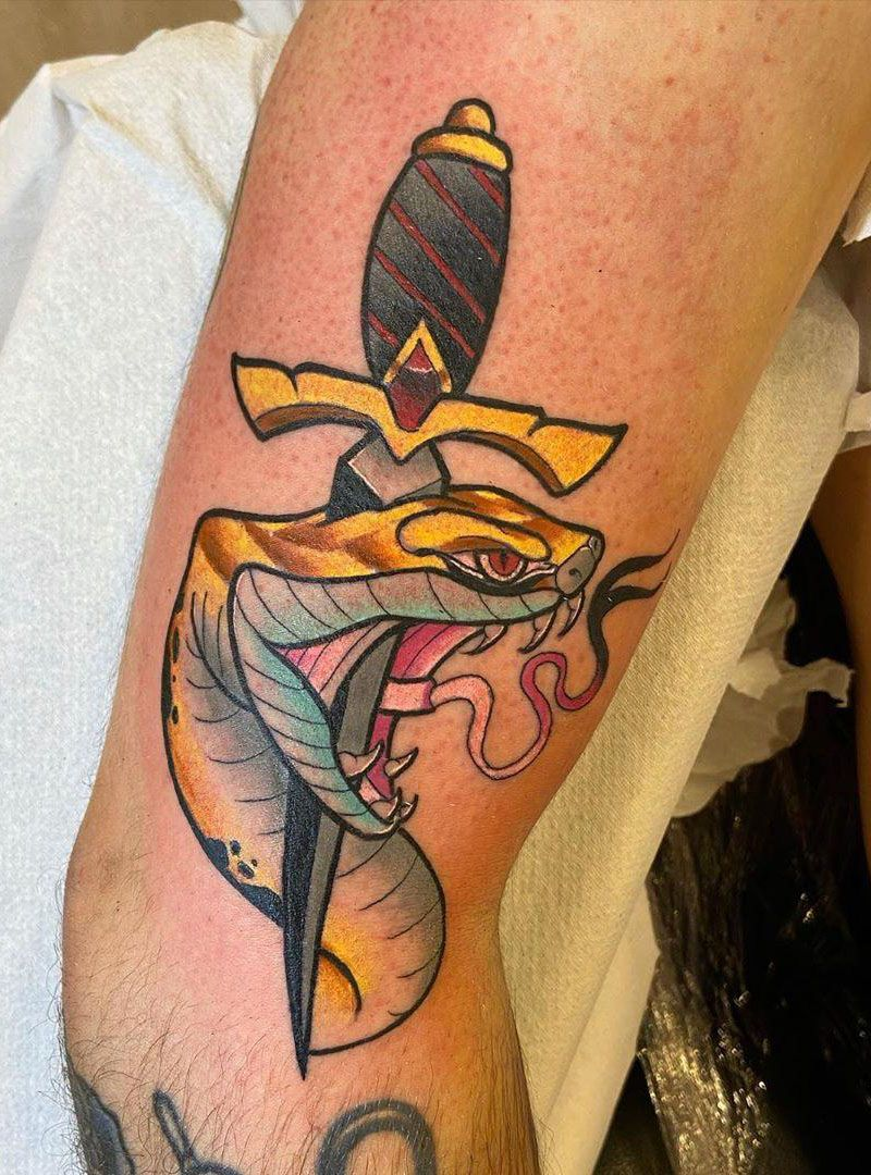 55 Pretty Snake Tattoos to Inspire You