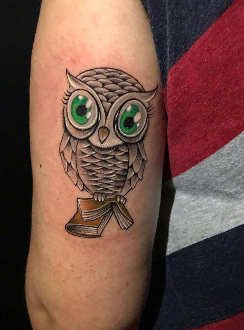55 Perfect Owl Tattoo Designs Light Up Your Night
