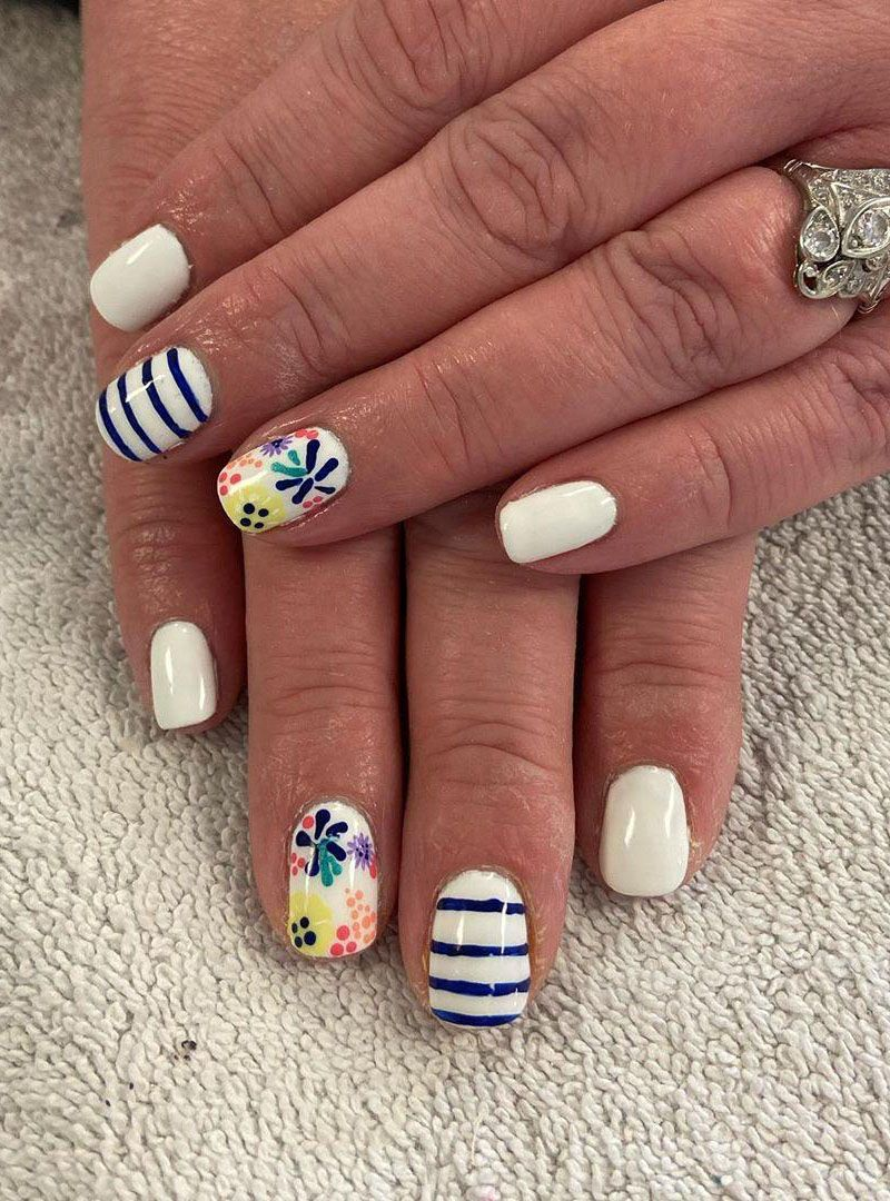 50 Gorgeous Floral Nail Art Designs for Spring You Will Love