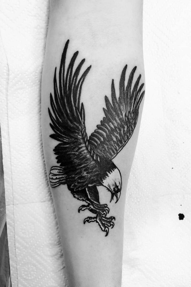 55 Pretty Eagle Tattoos Make You Brave