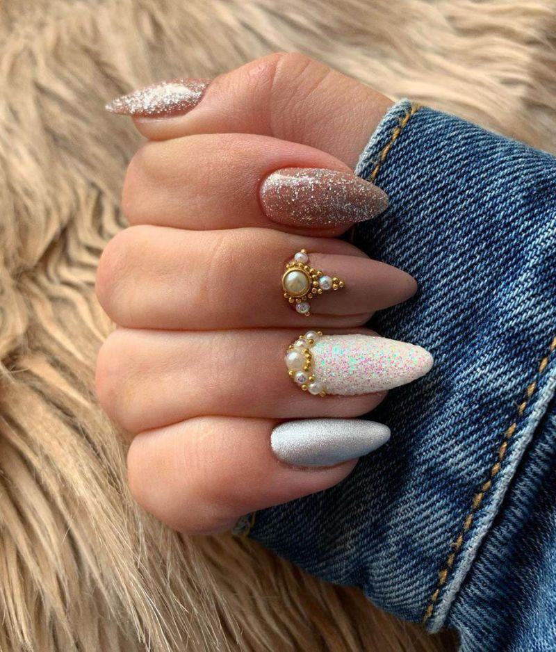 30 Pretty Summer Almond Nails You Must Love