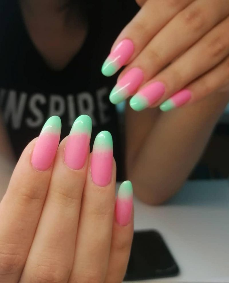 30 Pretty Summer Oval Nails You Can Copy